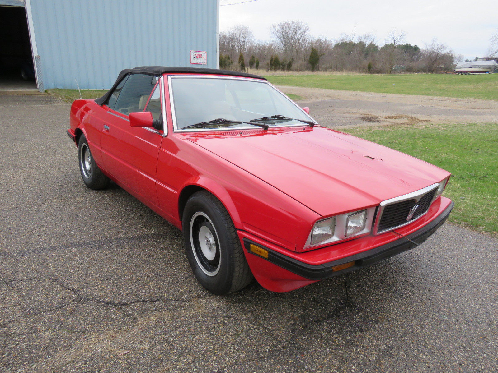1986 MaserattiB1 Turbo Convertible - Image 3