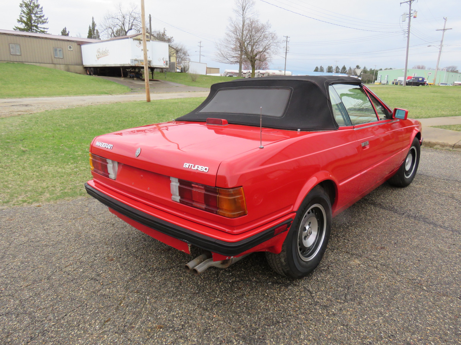 1986 MaserattiB1 Turbo Convertible - Image 5