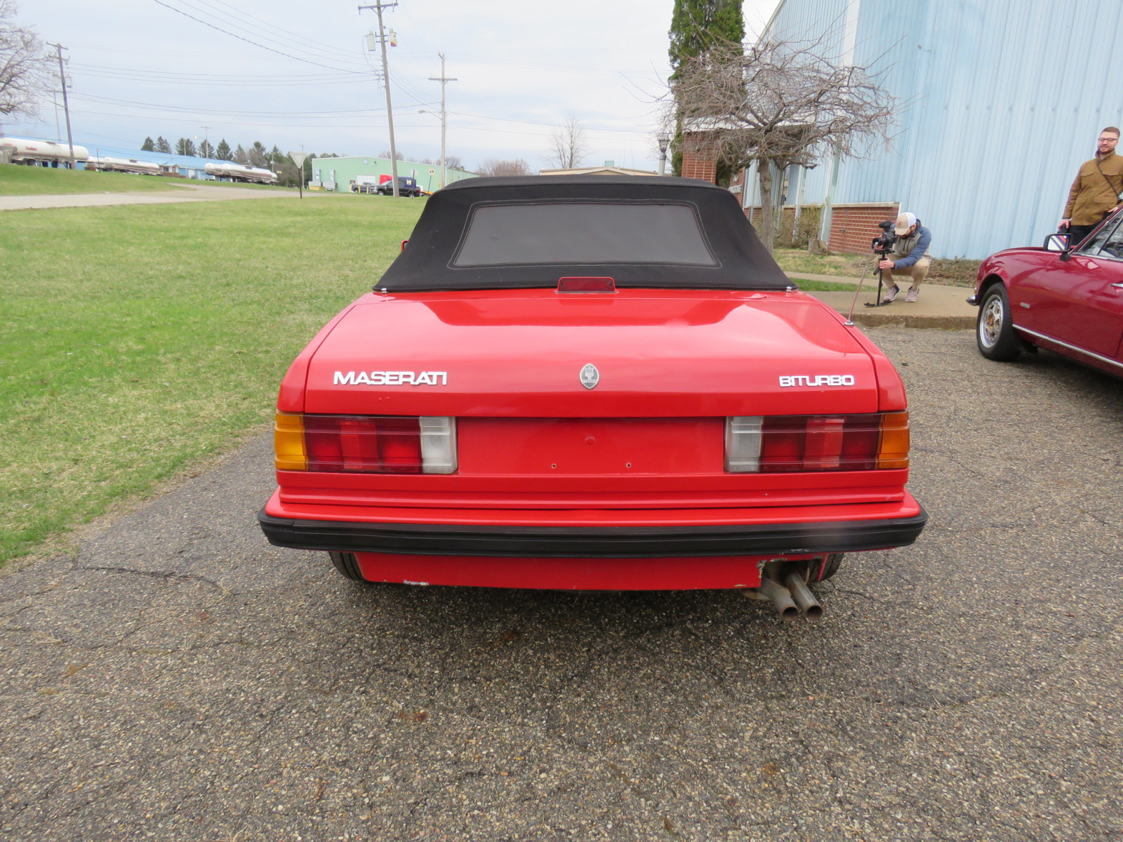 1986 MaserattiB1 Turbo Convertible - Image 6