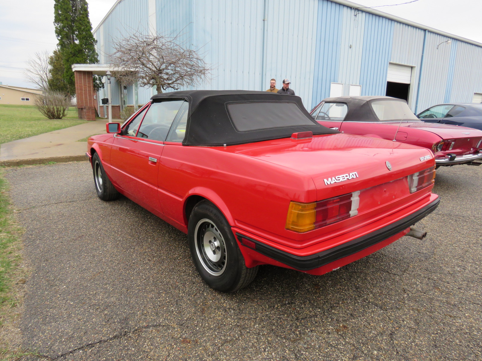 1986 MaserattiB1 Turbo Convertible - Image 7