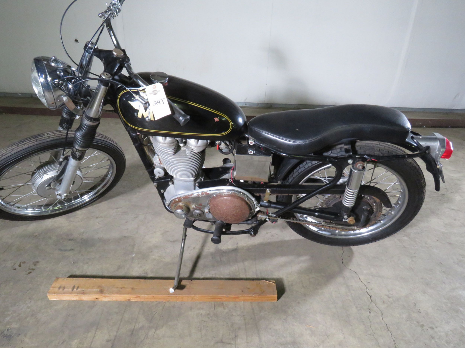 1956 Matchless G80 Motorcycle - Image 2