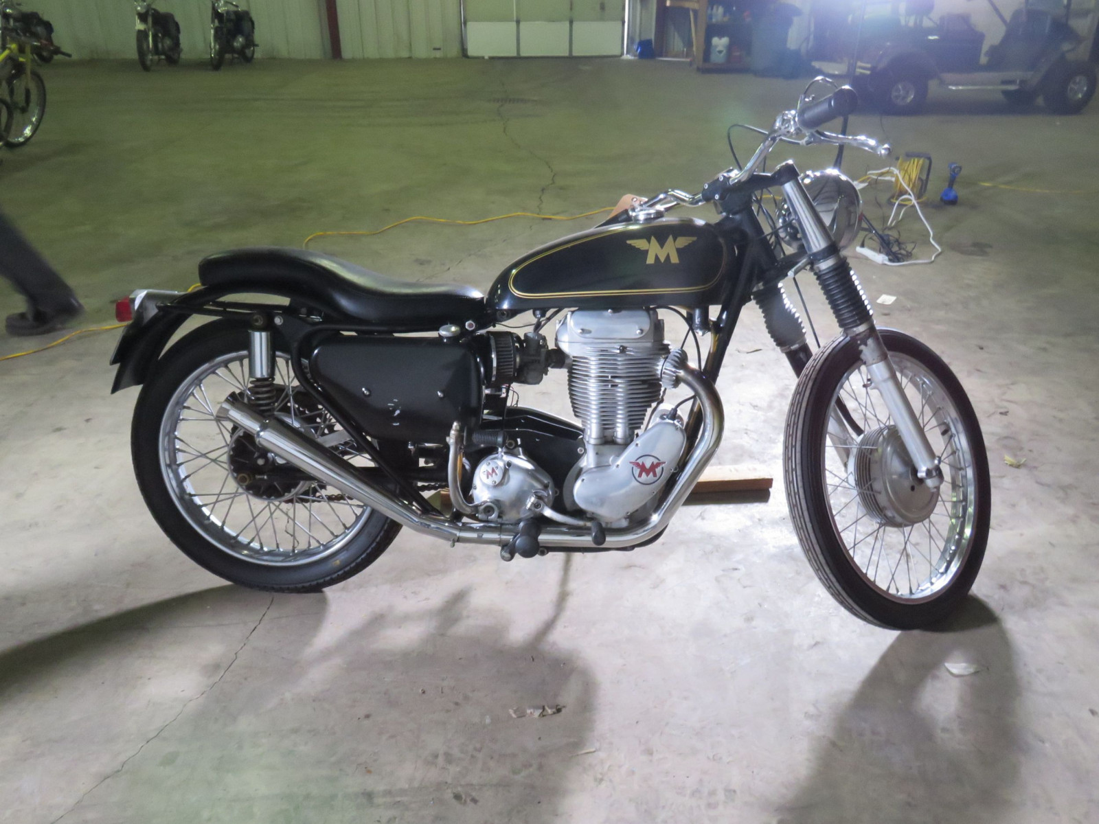 1956 Matchless G80 Motorcycle - Image 5