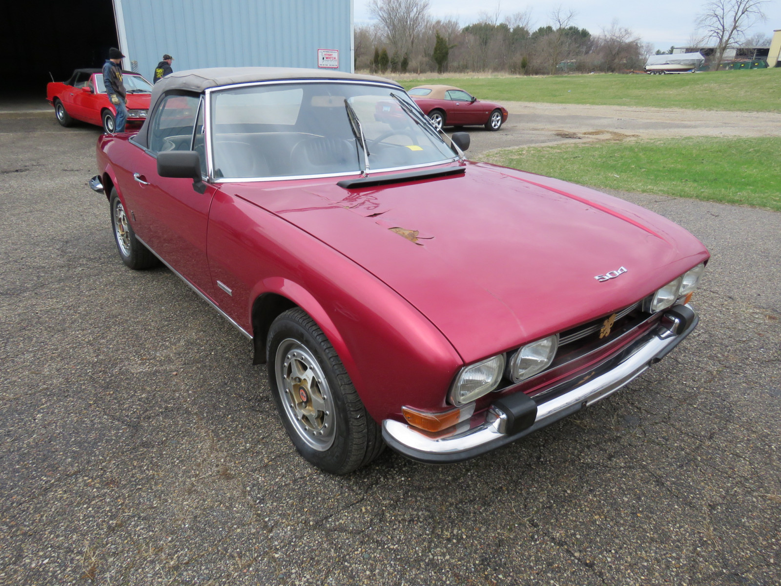 1972 Peugeot 504 Fuel Injected Convertible - Image 1