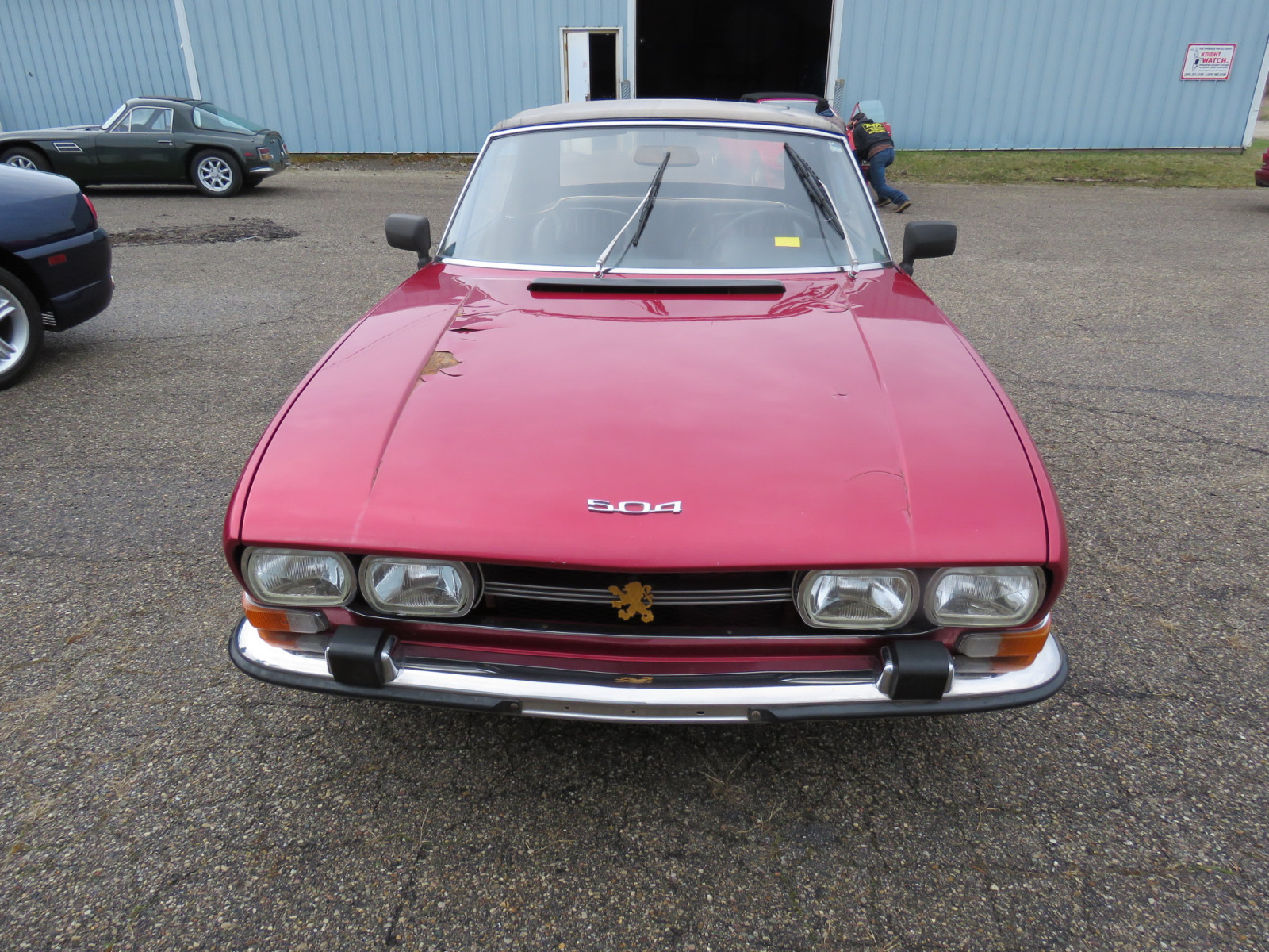 1972 Peugeot 504 Fuel Injected Convertible - Image 2