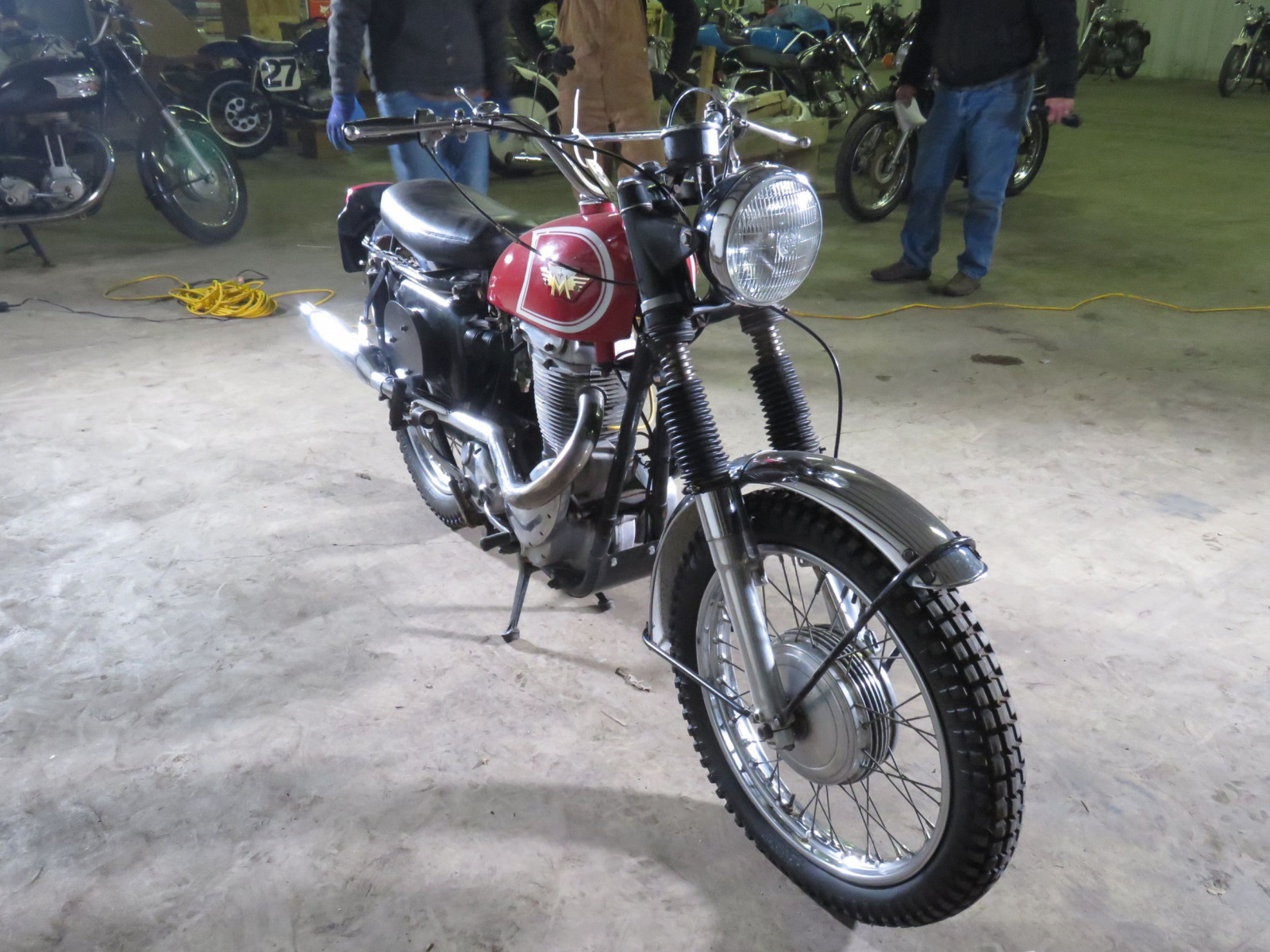 1967 Matchless G80 Competition Scrambler Motorcycle - Image 2