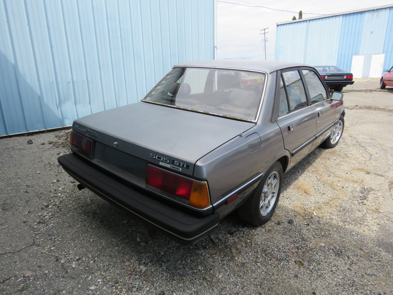 1984 Peugeot 505 STI Turbo D Sedan - Image 4