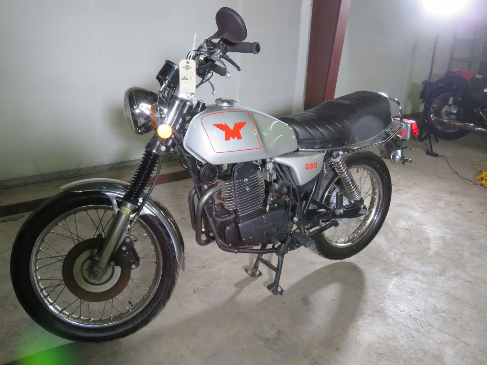 Rare 1988 Matchless G80 Rotax Power Motorcycle - Image 1