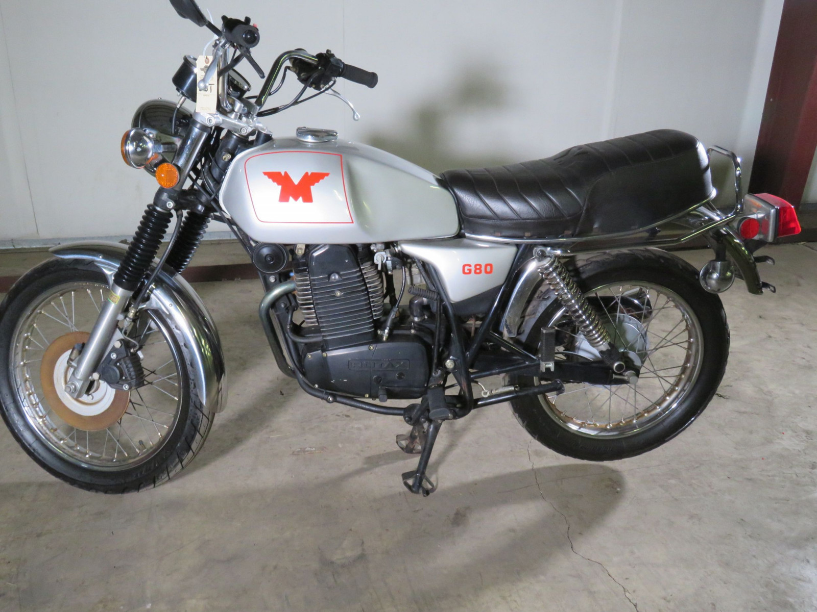 Rare 1988 Matchless G80 Rotax Power Motorcycle - Image 2