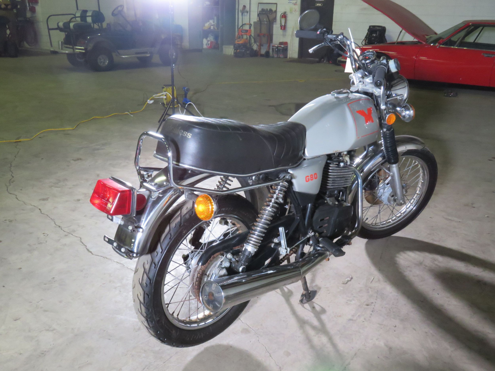 Rare 1988 Matchless G80 Rotax Power Motorcycle - Image 4