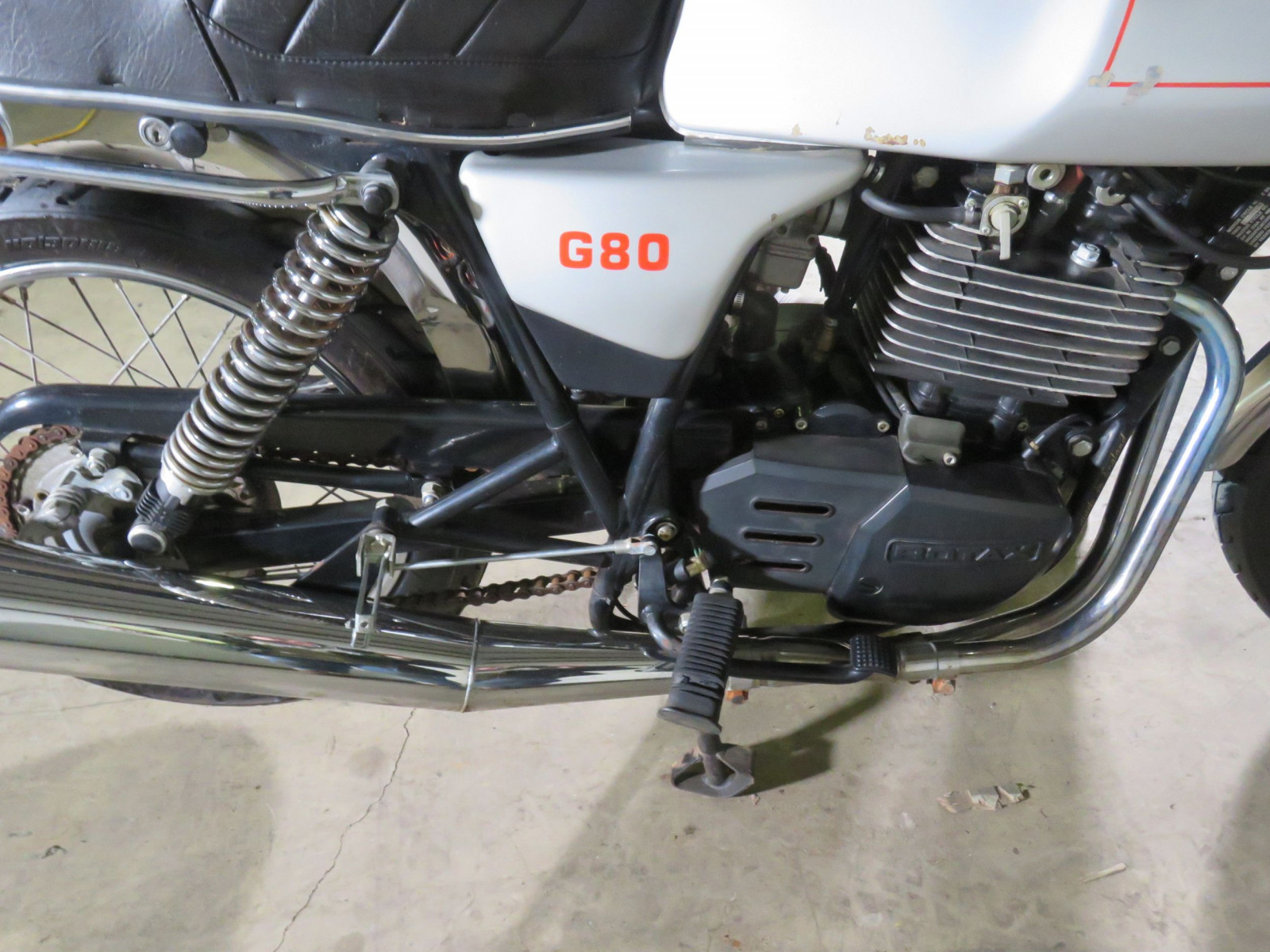 Rare 1988 Matchless G80 Rotax Power Motorcycle - Image 8