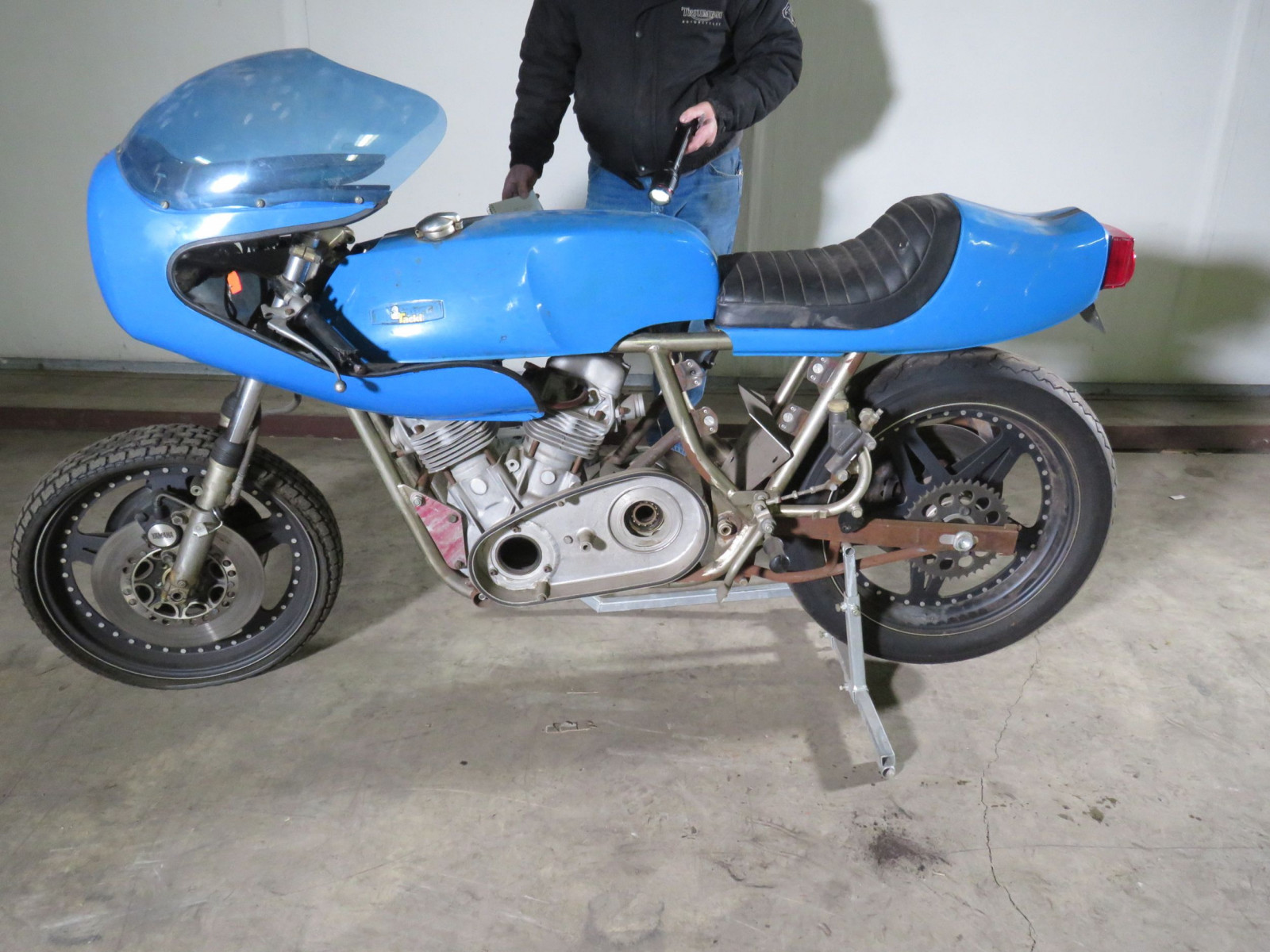 Homemade Mystery Motorcycle - Image 2
