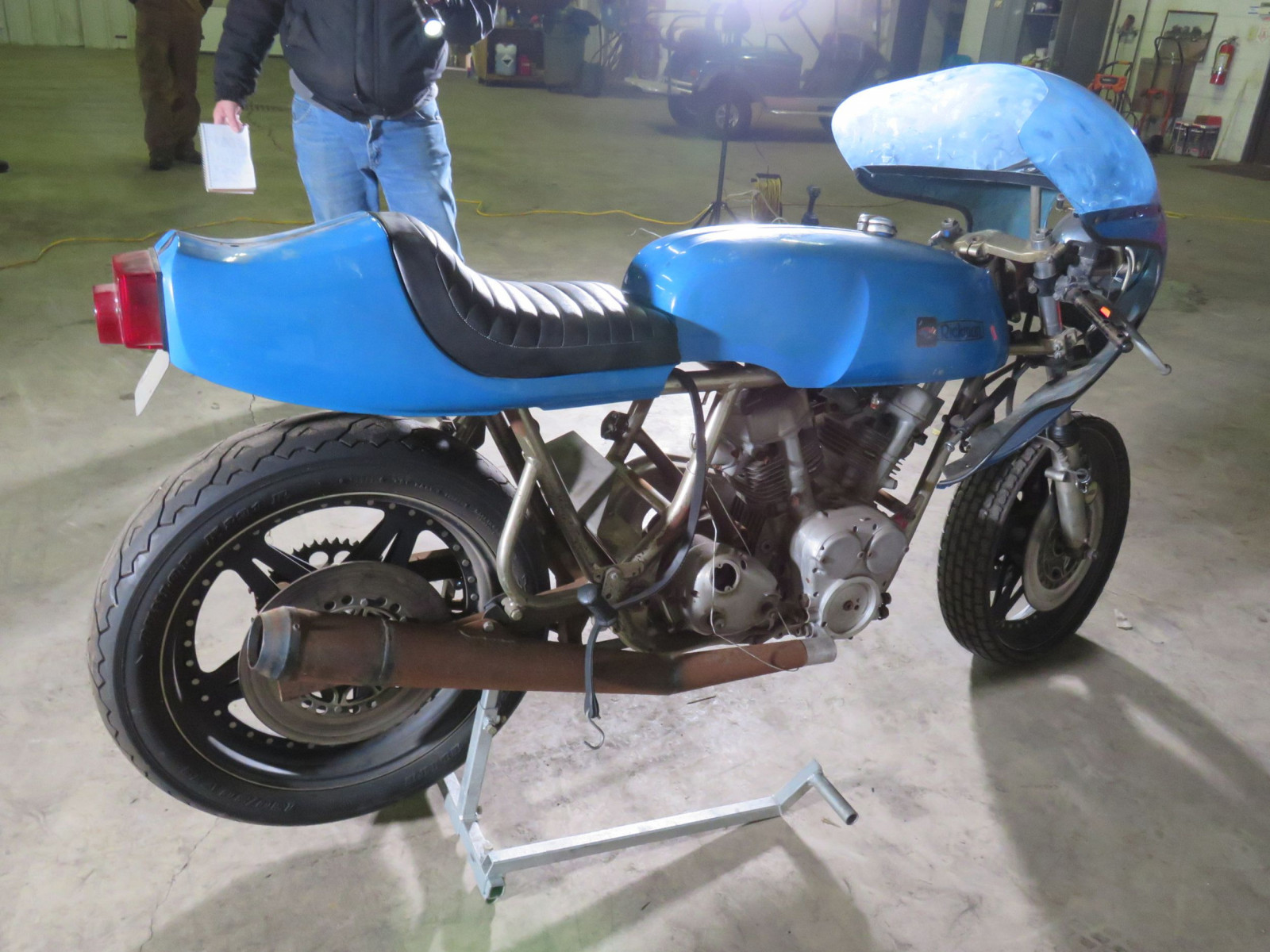 Homemade Mystery Motorcycle - Image 3