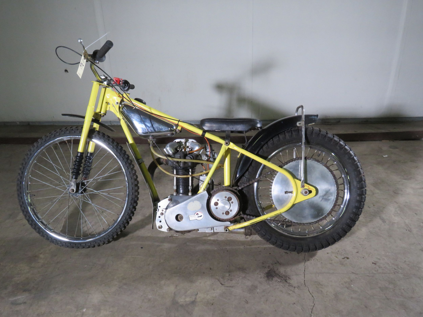 JAP Speedway Racer Motorcycle - Image 1