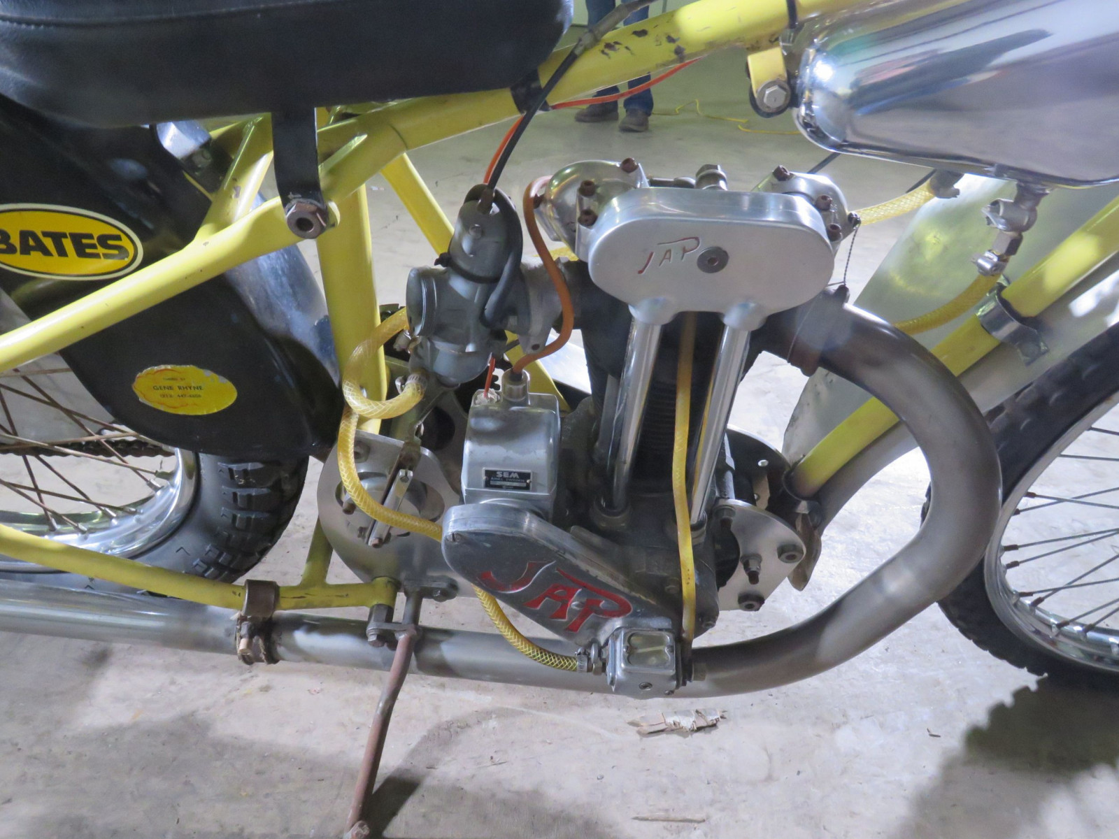 JAP Speedway Racer Motorcycle - Image 11