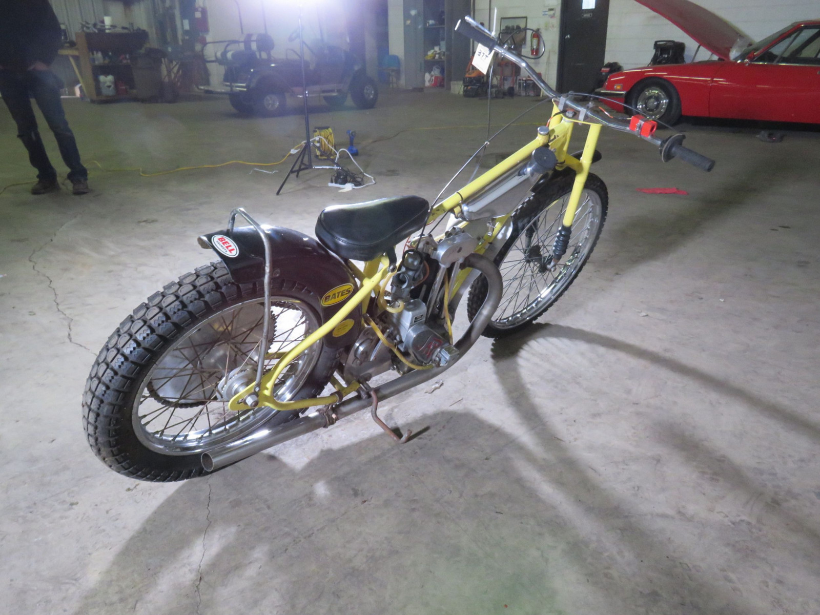 JAP Speedway Racer Motorcycle - Image 3