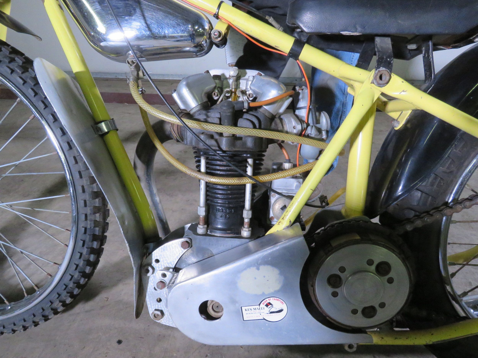 JAP Speedway Racer Motorcycle - Image 7