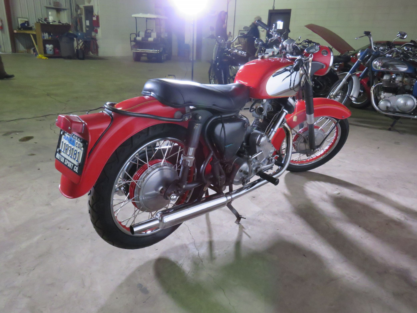 1965 Panther Model 120 Motorcycle - Image 5