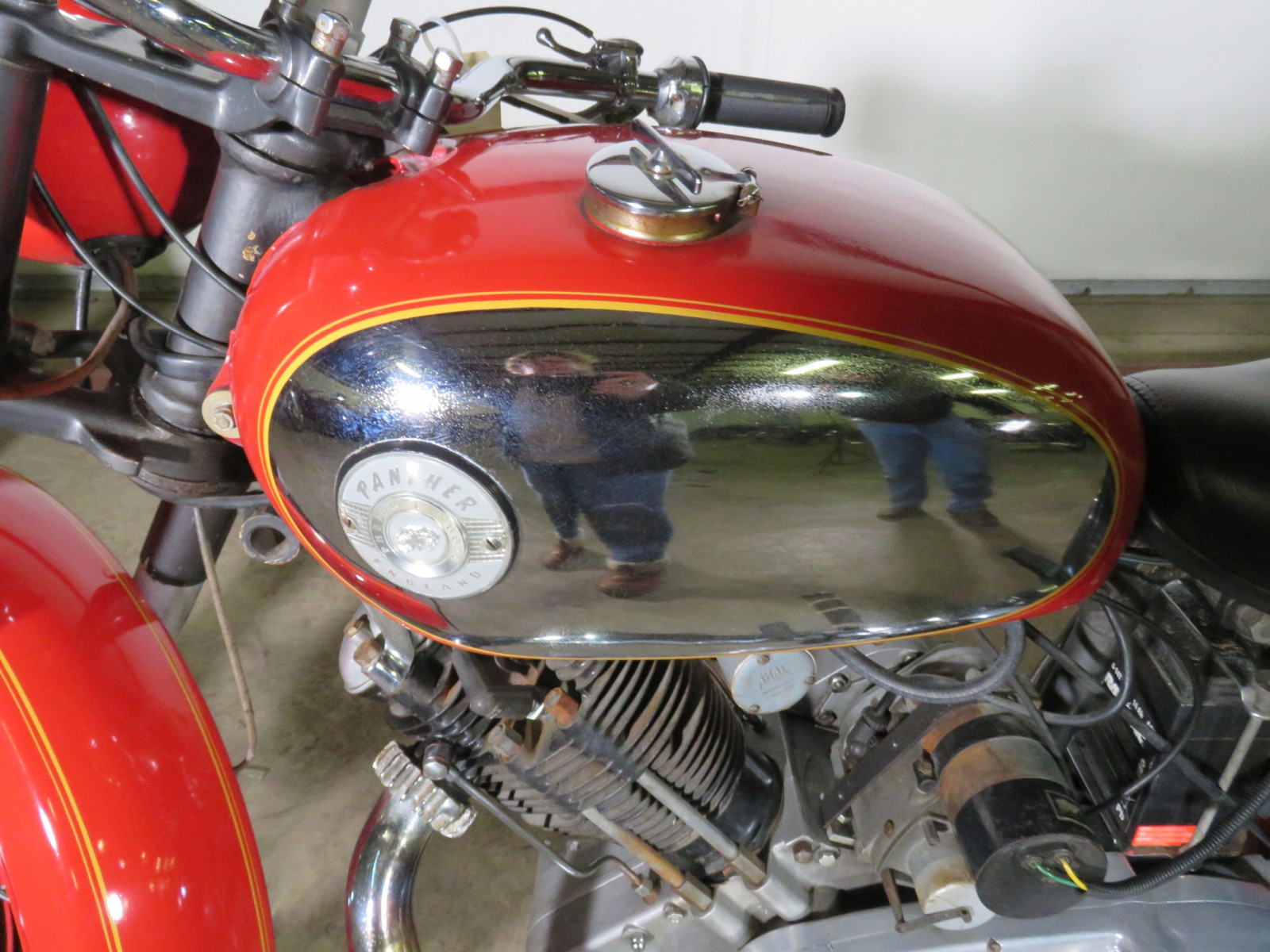 1965 Panther Model 120 Motorcycle - Image 6