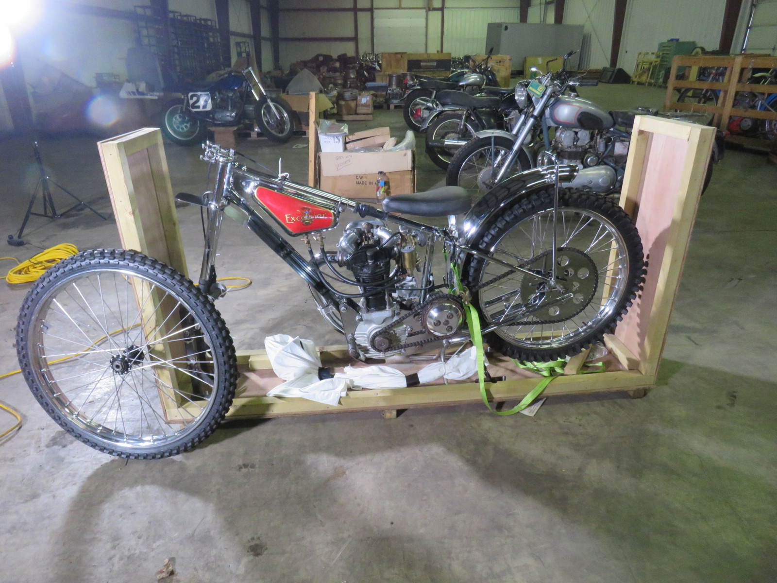 JAP Speedway Racer Motorcycle - Image 10