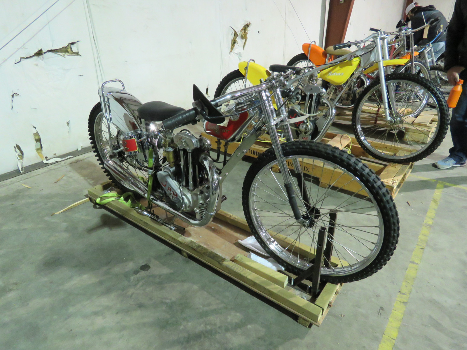 JAP Speedway Racer Motorcycle - Image 2