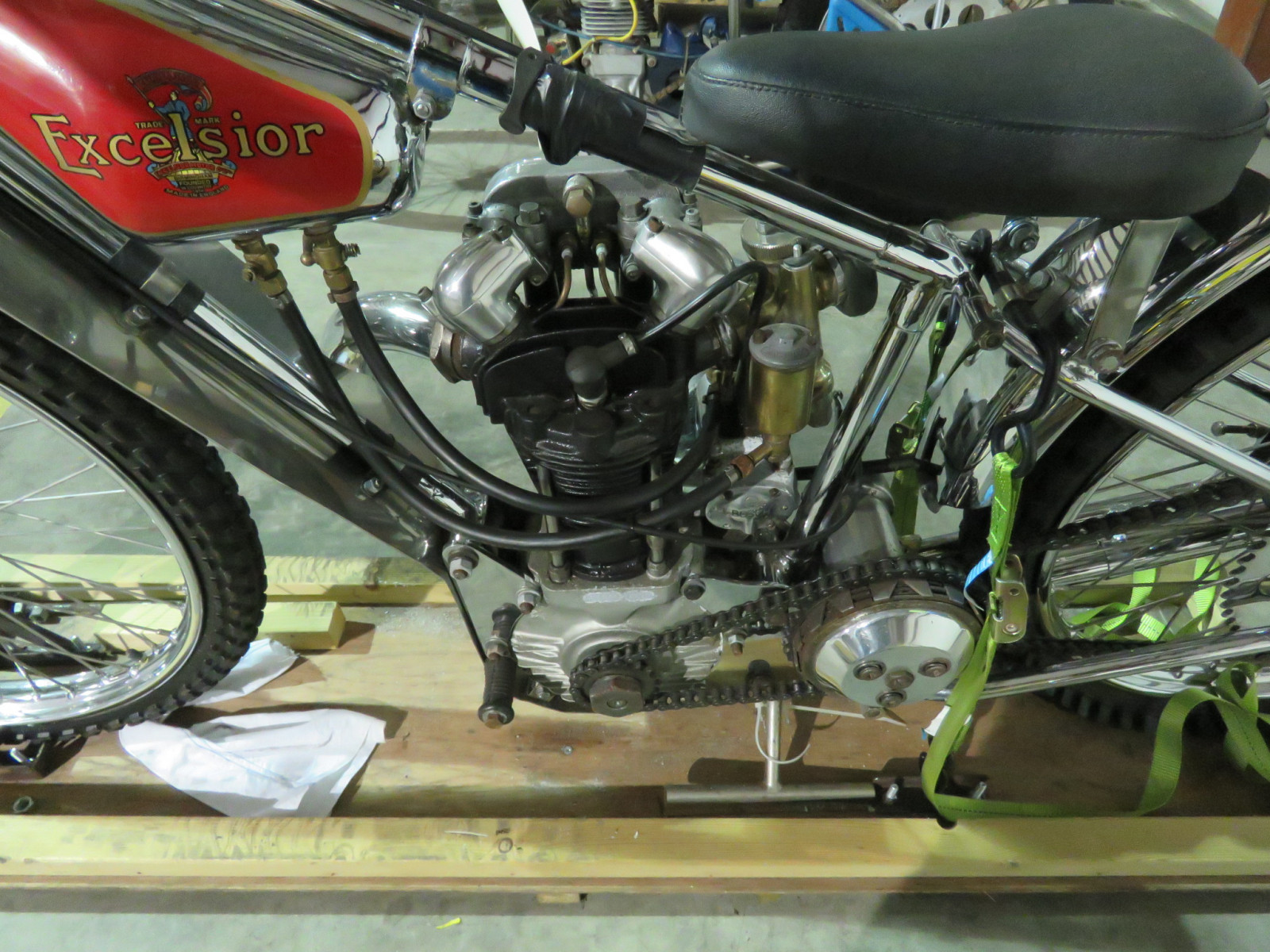 JAP Speedway Racer Motorcycle - Image 4