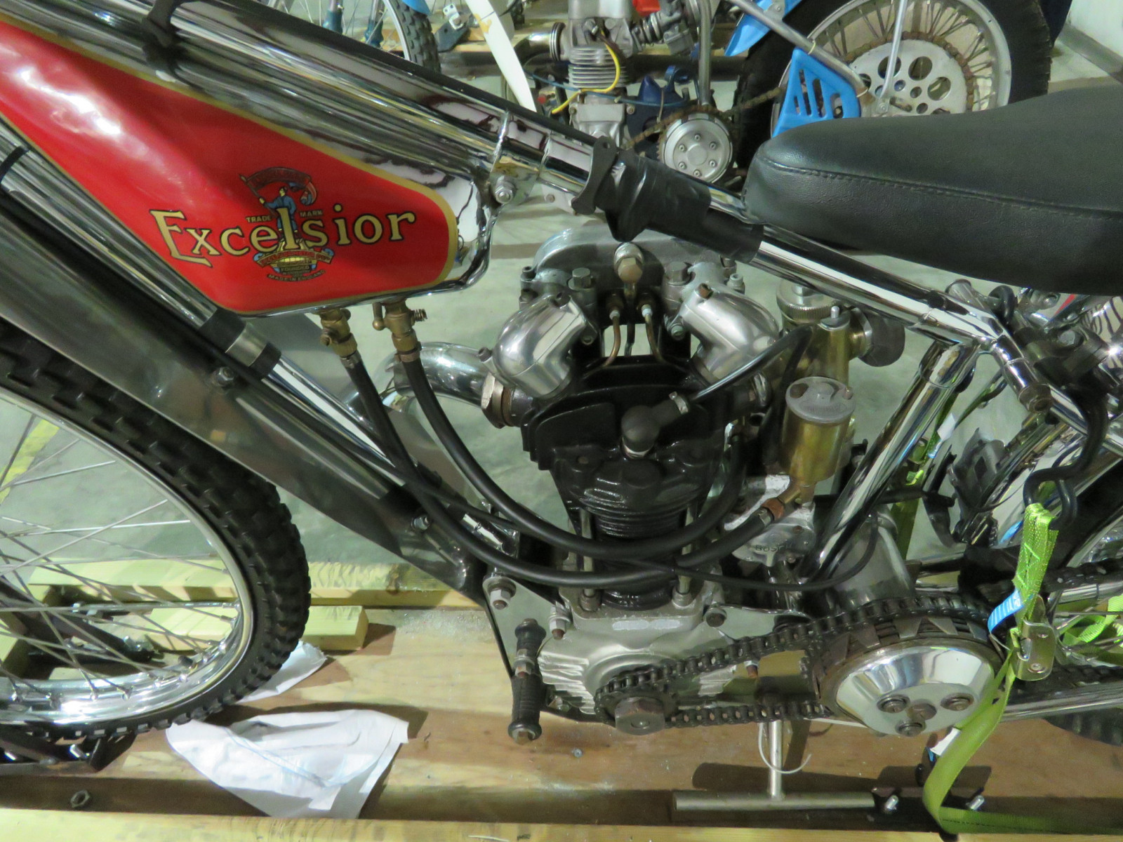 JAP Speedway Racer Motorcycle - Image 6