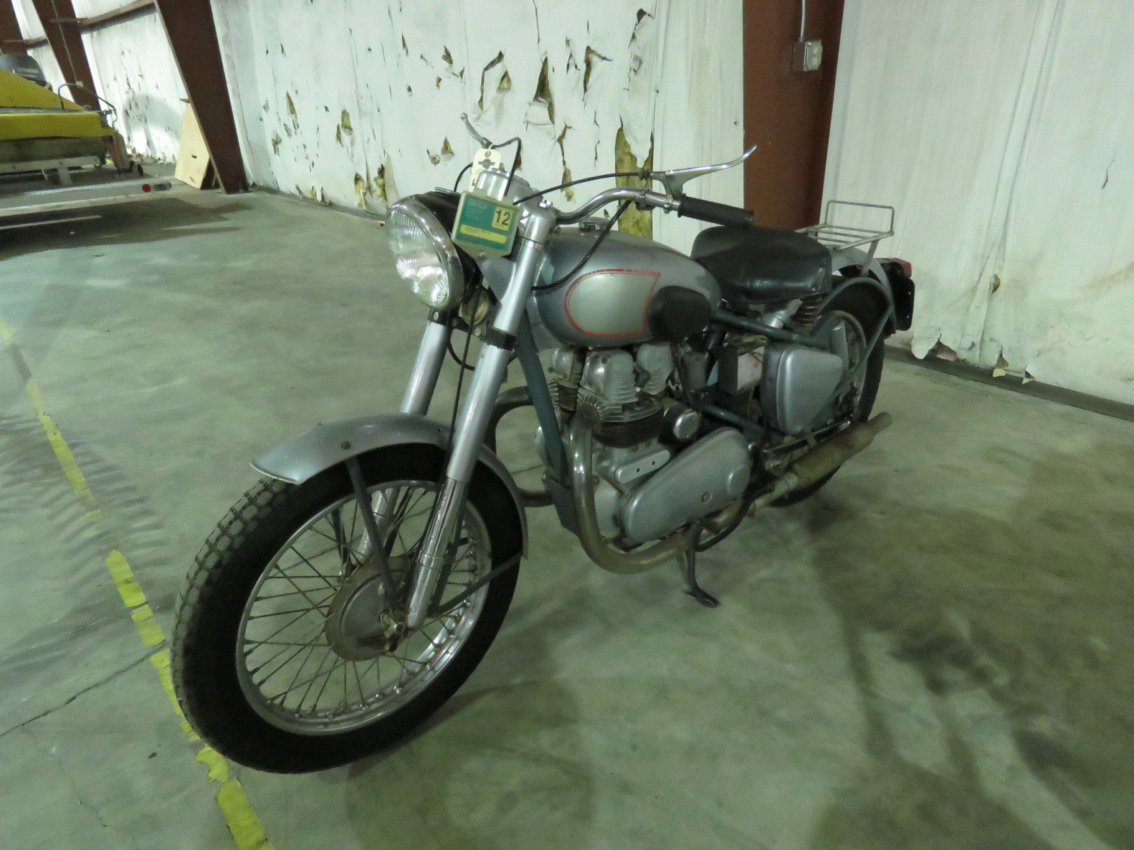 1952 Royal Enfield 500 Twin Motorcycle - Image 2