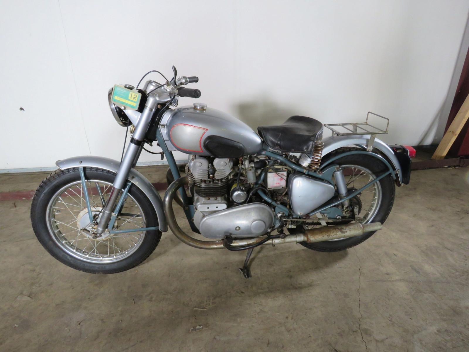 1952 Royal Enfield 500 Twin Motorcycle - Image 6