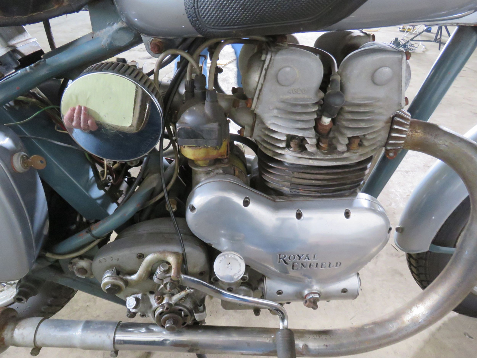 1952 Royal Enfield 500 Twin Motorcycle - Image 8
