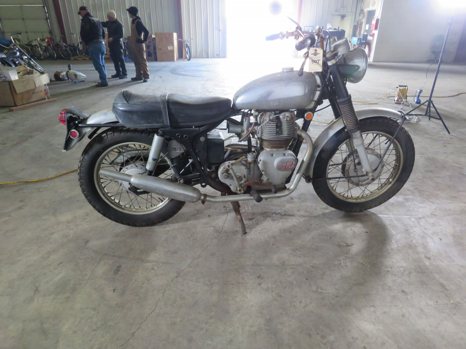 1969 Royal Enfield Series 2 Interceptor Motorcycle - Image 6