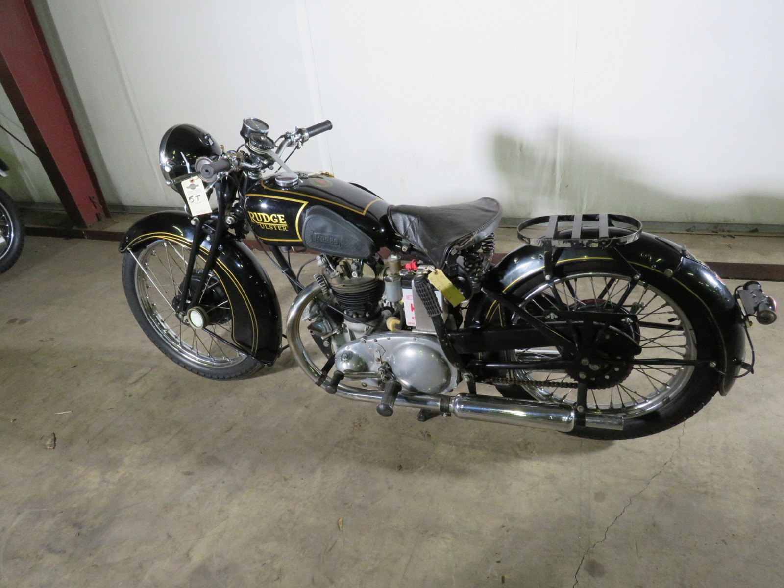 1939 Rudge Ulster Prewar Road Race Motorcycle - Image 1