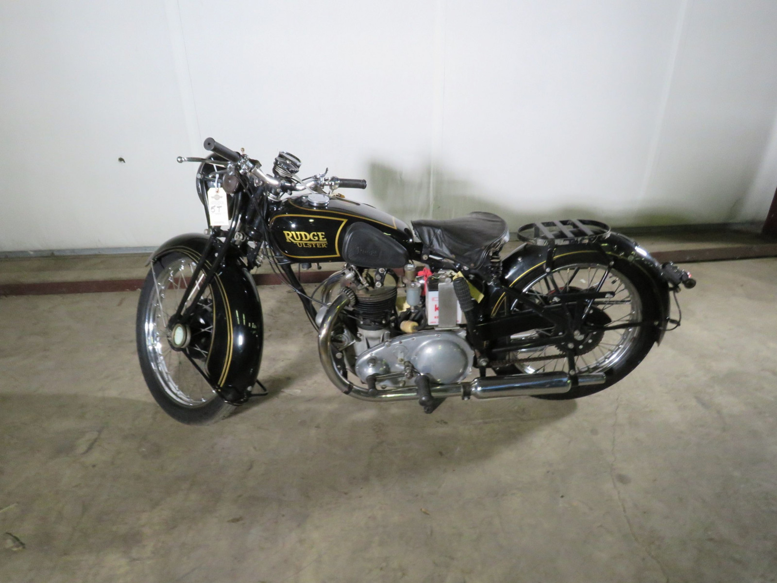 1939 Rudge Ulster Prewar Road Race Motorcycle - Image 16