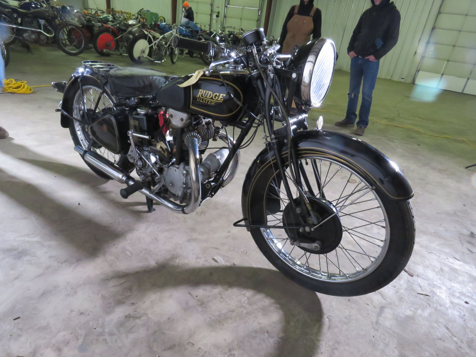 1939 Rudge Ulster Prewar Road Race Motorcycle - Image 2