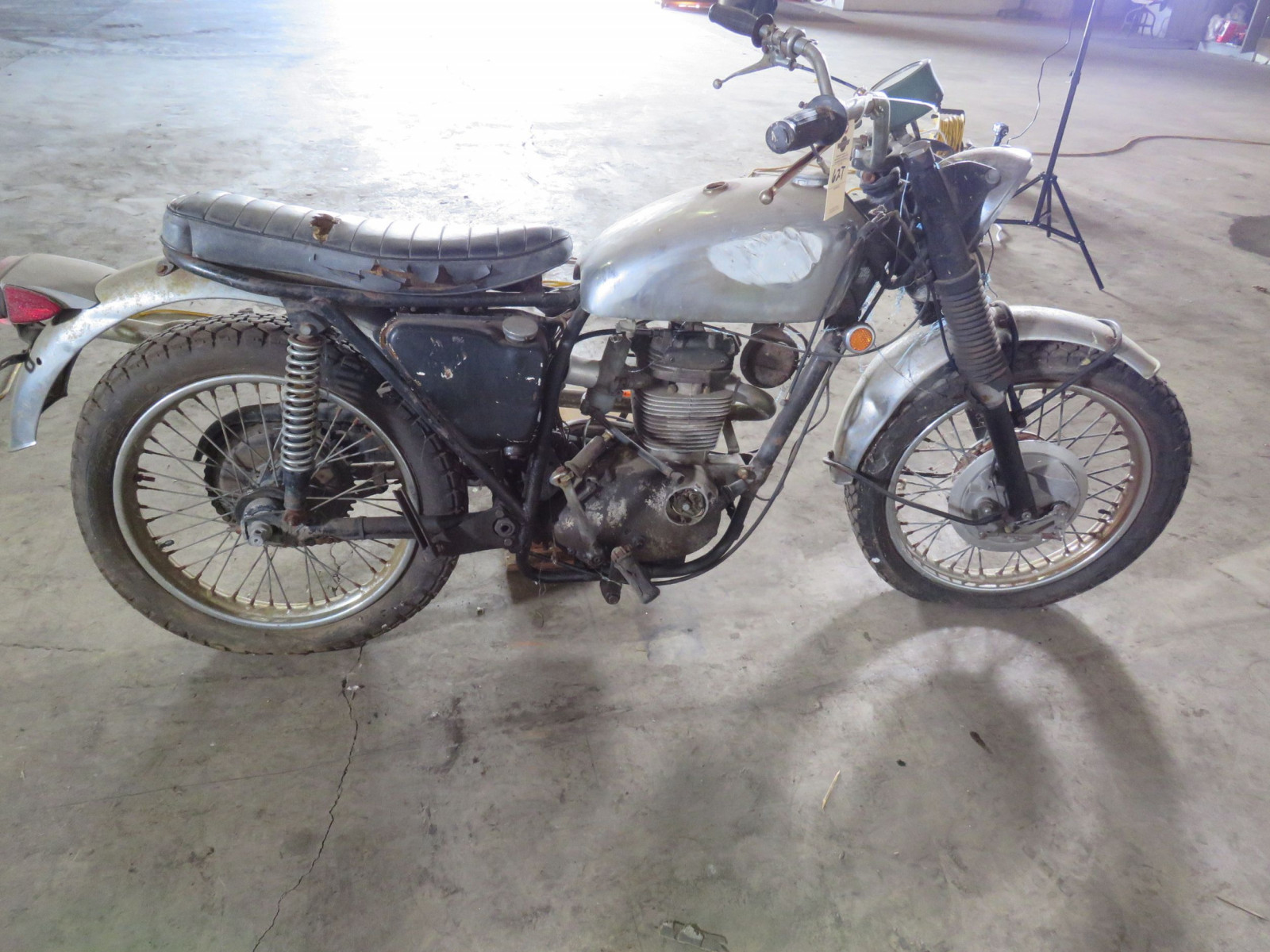 1970 BSA Motorcycle - Image 3