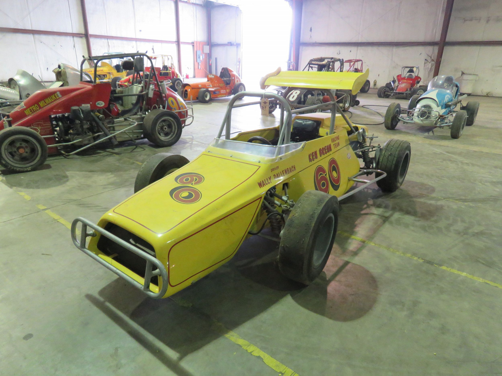 RARE Ken Brenn rear Engine 110 Beattie Midget Race Car - Image 1