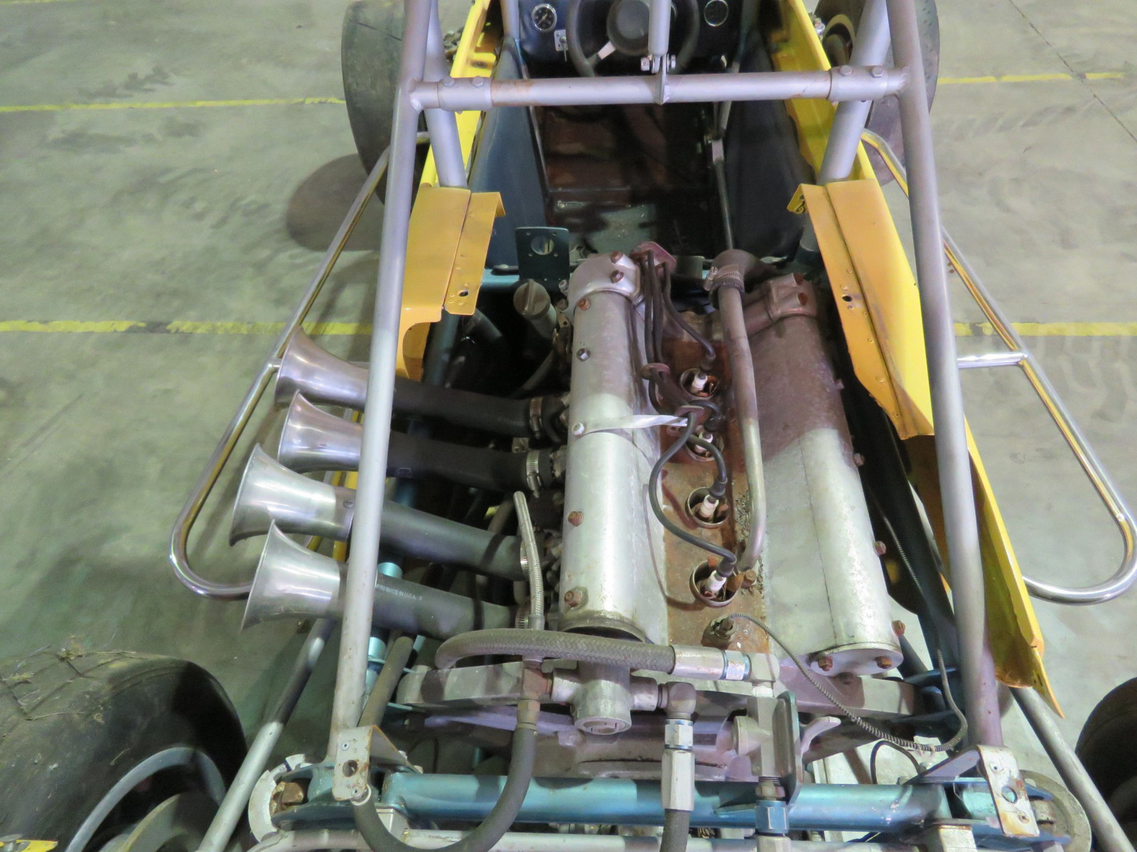RARE Ken Brenn rear Engine 110 Beattie Midget Race Car - Image 11