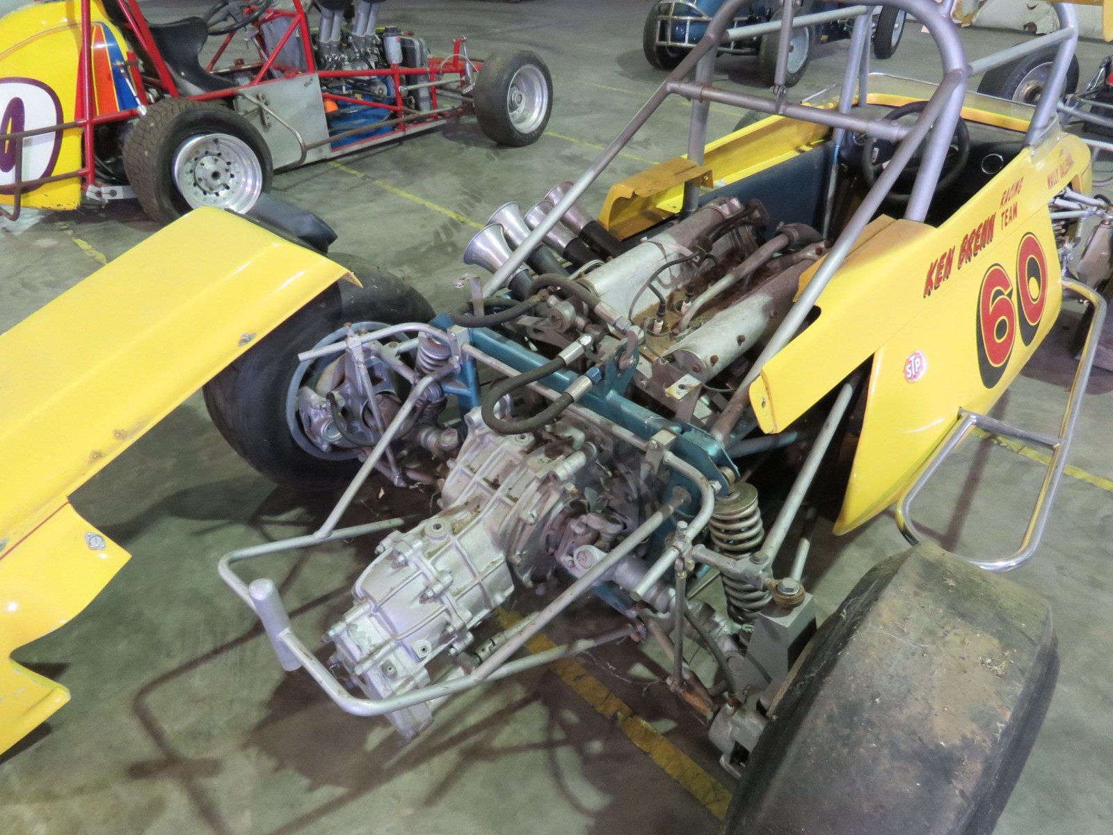 RARE Ken Brenn rear Engine 110 Beattie Midget Race Car - Image 12