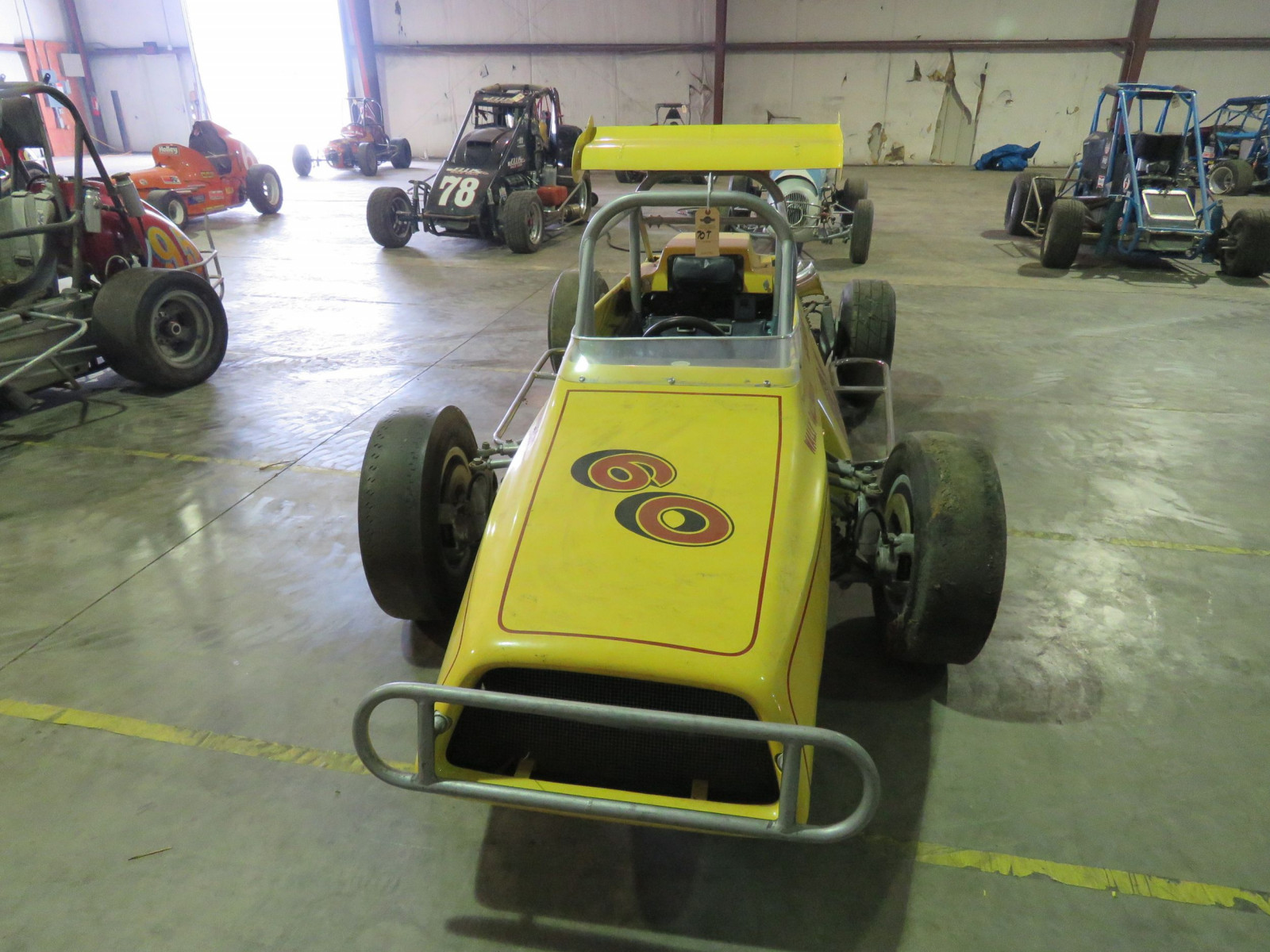 RARE Ken Brenn rear Engine 110 Beattie Midget Race Car - Image 2