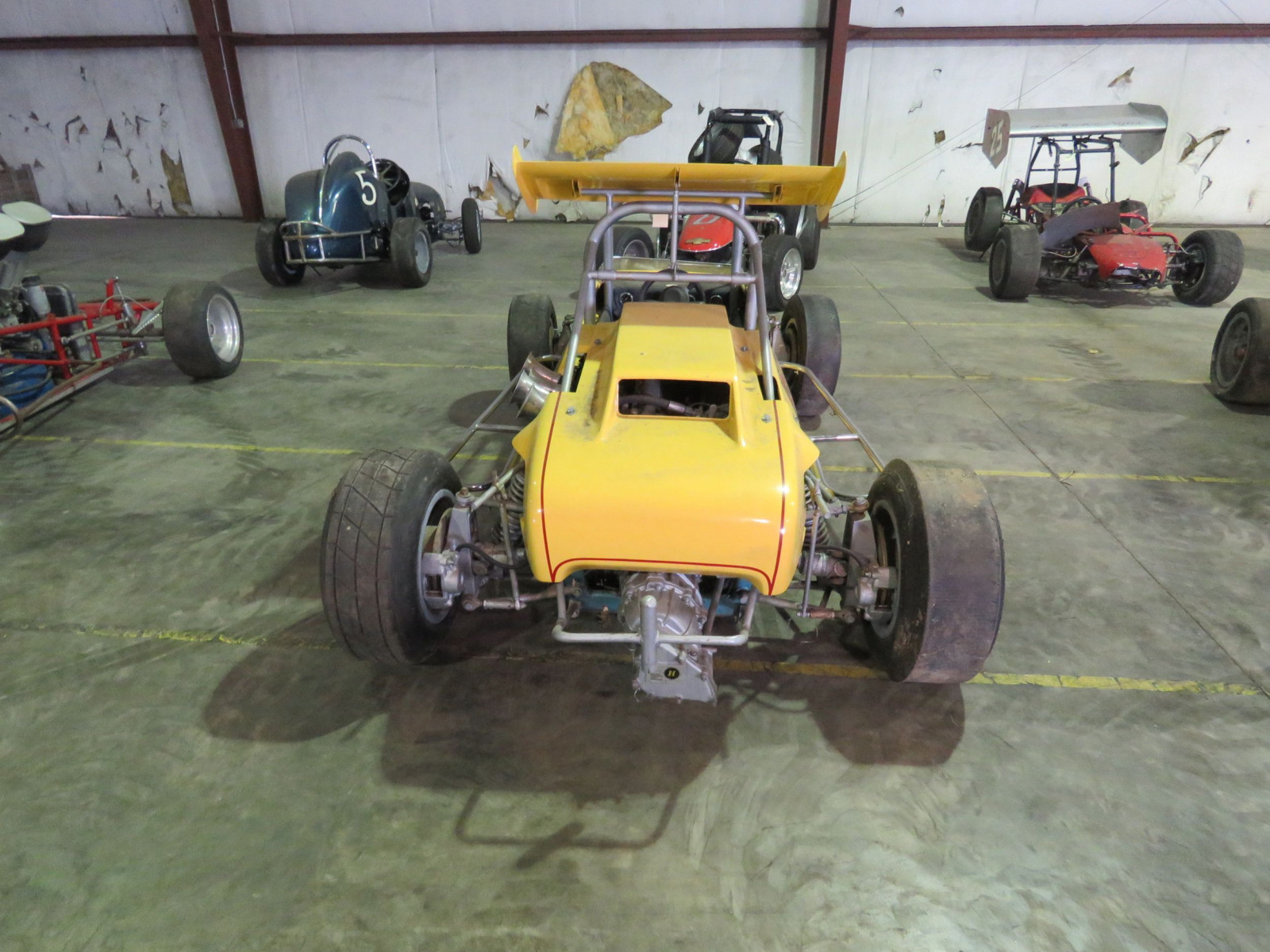 RARE Ken Brenn rear Engine 110 Beattie Midget Race Car - Image 6