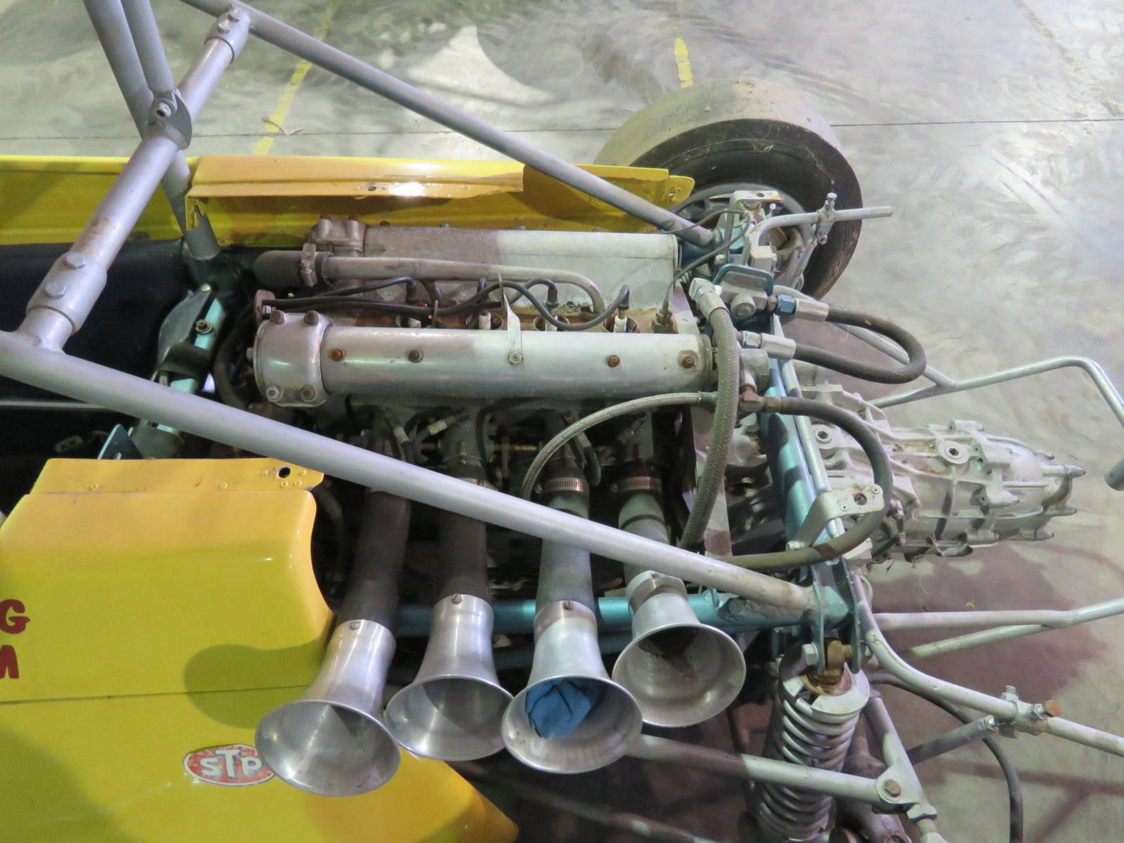 RARE Ken Brenn rear Engine 110 Beattie Midget Race Car - Image 9
