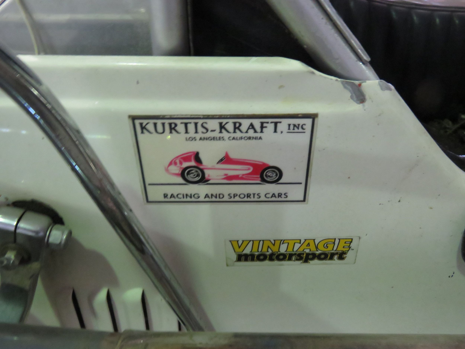 Rare 1947 Kurtis Kraft-Chimnery Midget Racecar and Trailer - Image 15