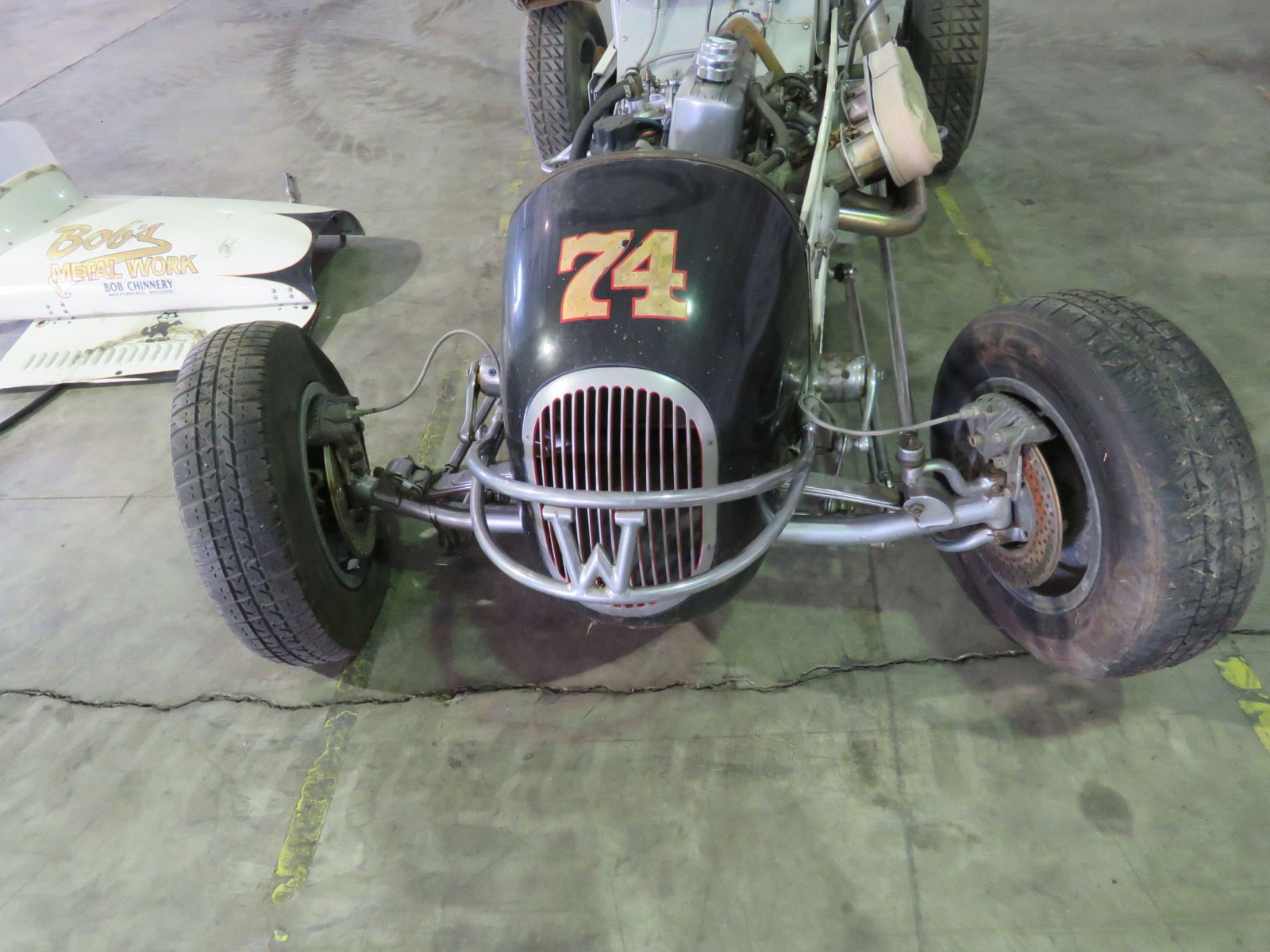 Rare 1947 Kurtis Kraft-Chimnery Midget Racecar and Trailer - Image 18