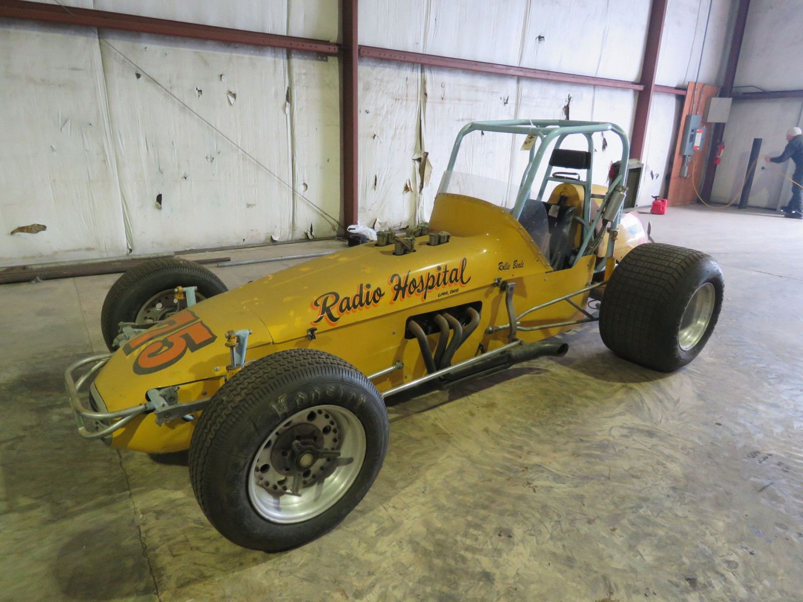 1972 fuel Injected Midget Race Car - Image 1