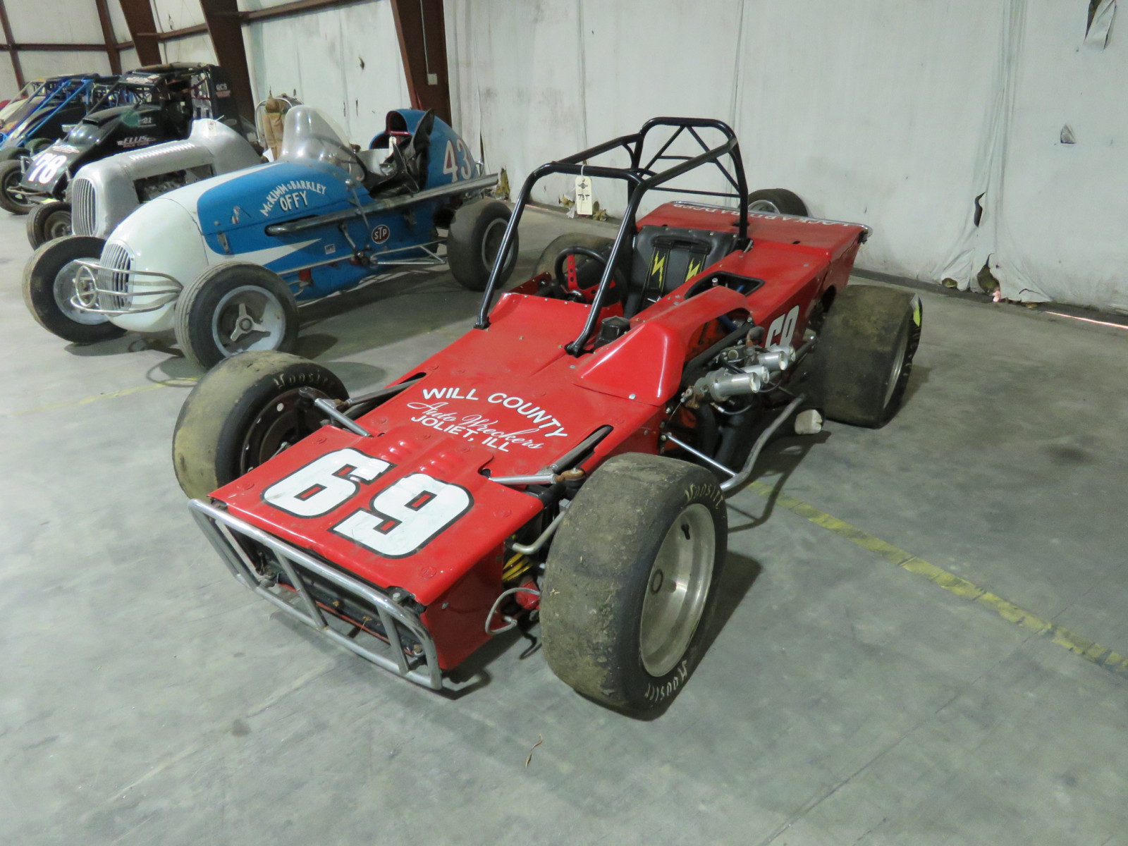 Famous Lockard Badger II Race Car - Image 1