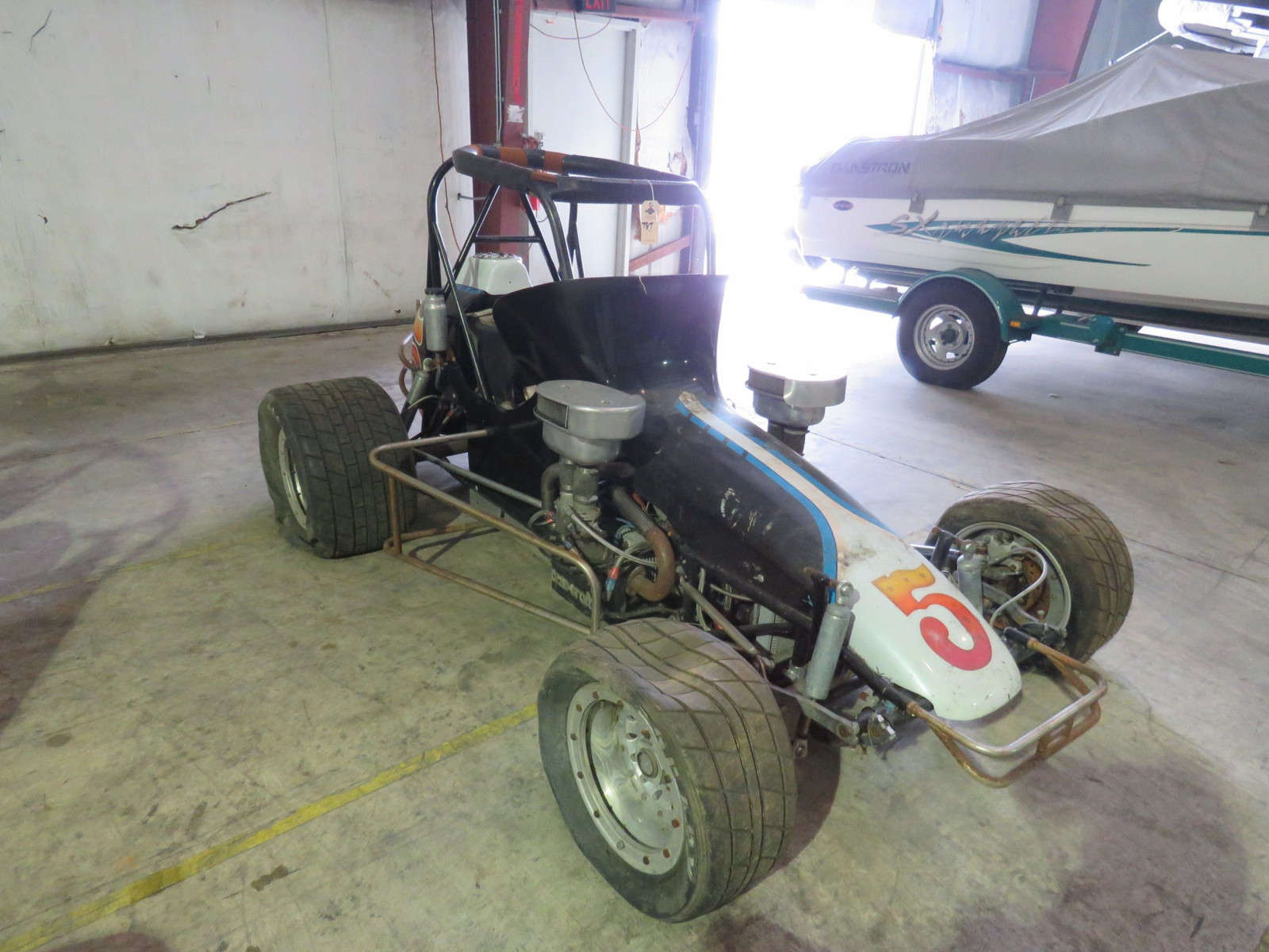 Vintage Edmunds Midget Race Car - Image 3