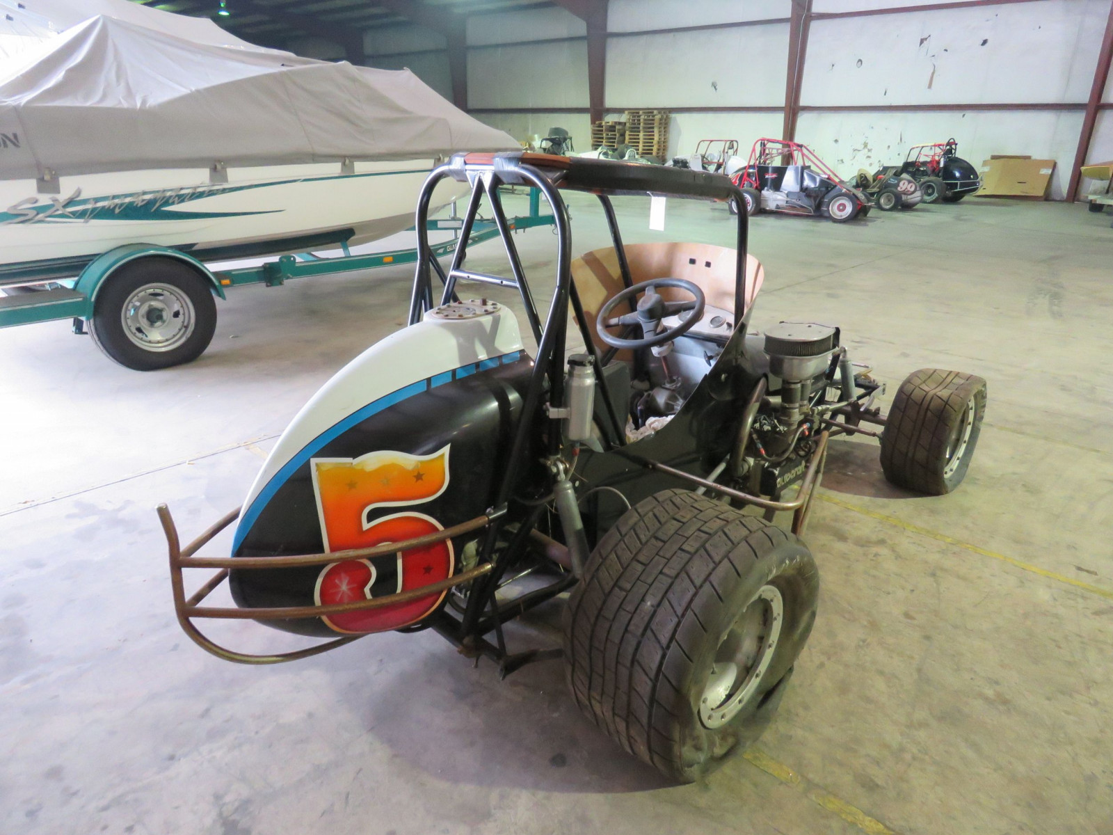 Vintage Edmunds Midget Race Car - Image 4