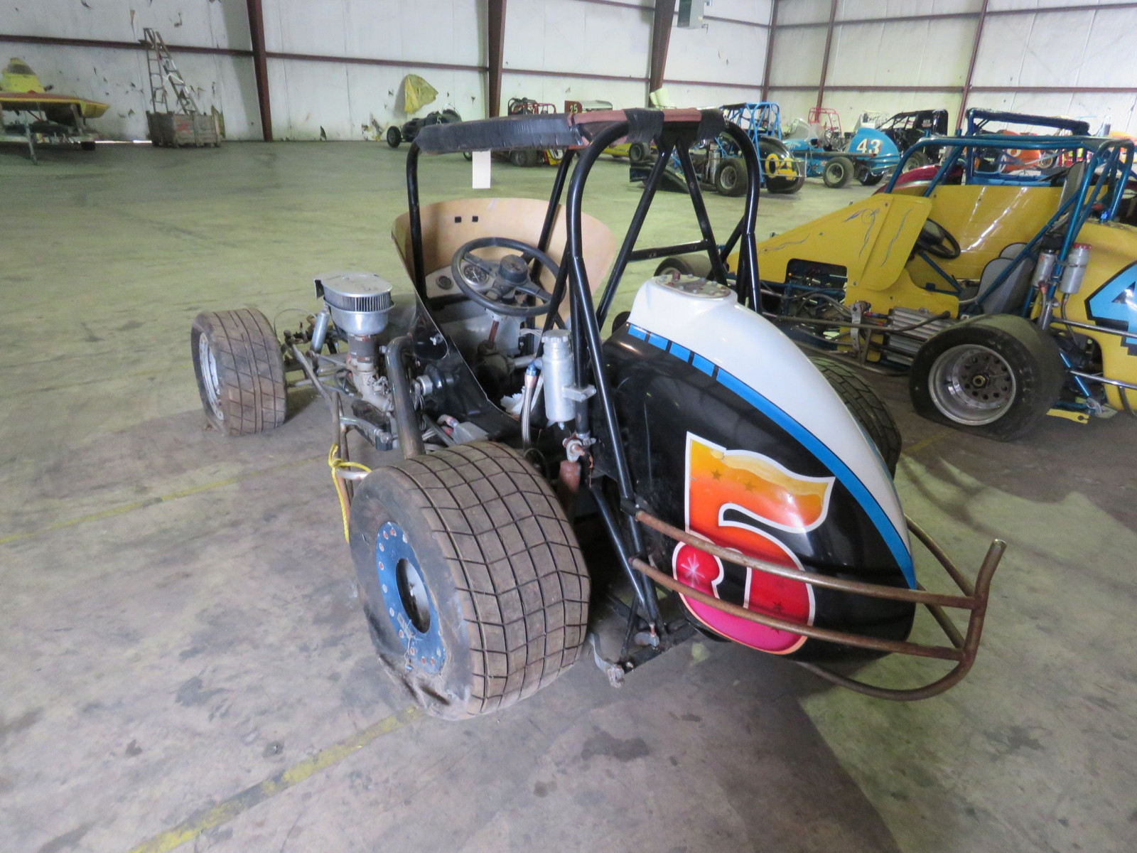 Vintage Edmunds Midget Race Car - Image 6