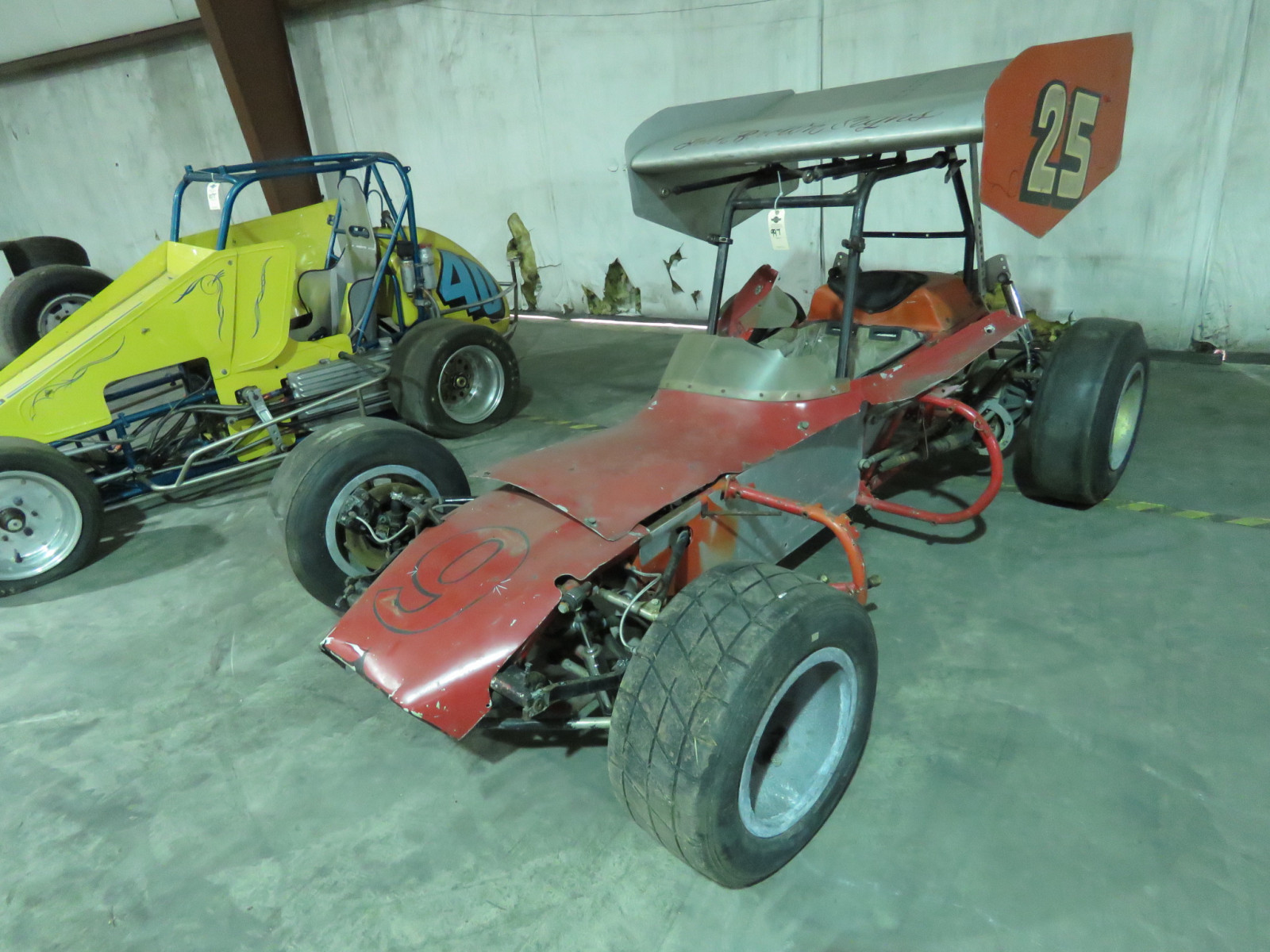 Vintage Edmunds Type Roadster Midget Race Car - Image 1