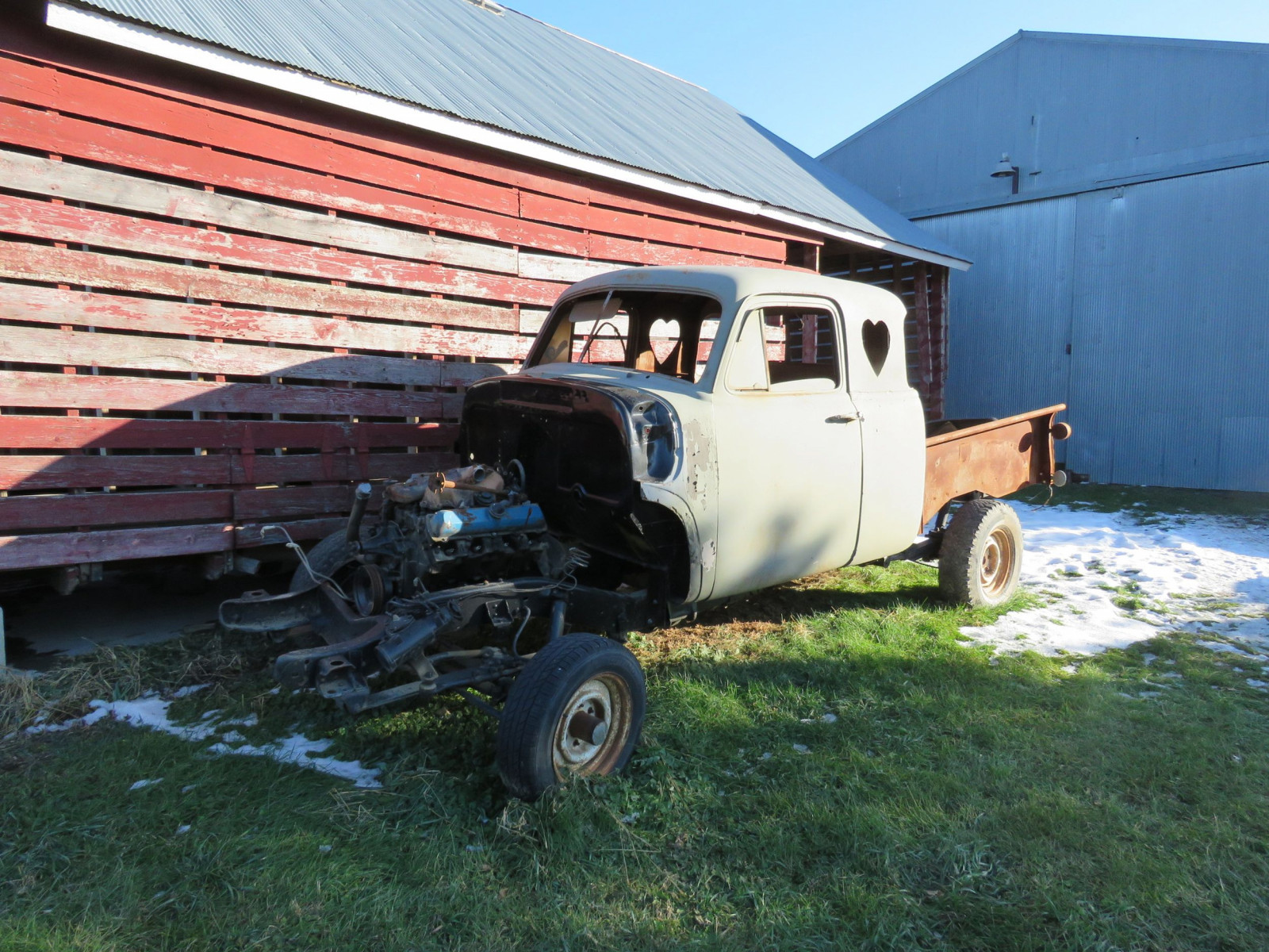 1949 Chevrolet 5 Window Cab Pickup Project - Image 1