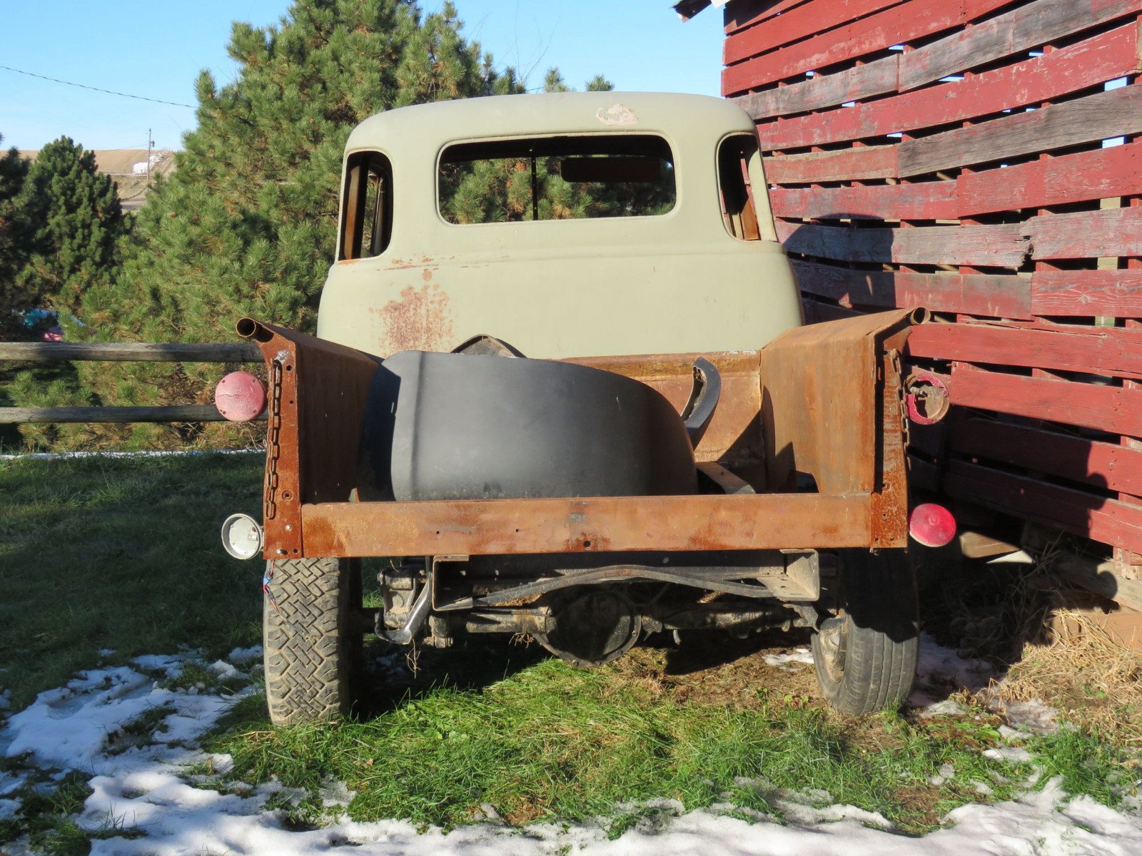 1949 Chevrolet 5 Window Cab Pickup Project - Image 12
